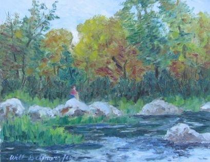 006: Will Beljaars Oil Painting Montreal