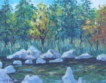 007: Will Beljaars Oil Painting Verdun Quebec