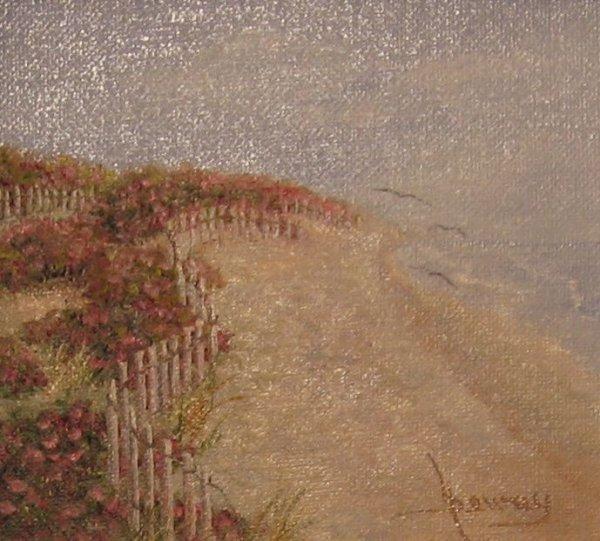 008: Harriette Dewey Oil Painting Cape Cod