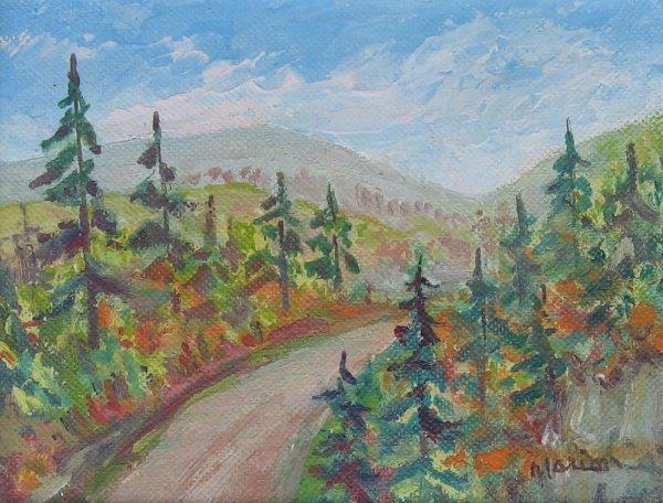 010: Rachel Marion Oil Painting Canadian