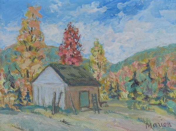 011: Rachel Marion Oil Painting Canadian