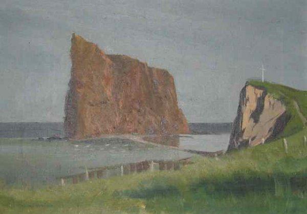 013: W. Kunmann Oil Painting