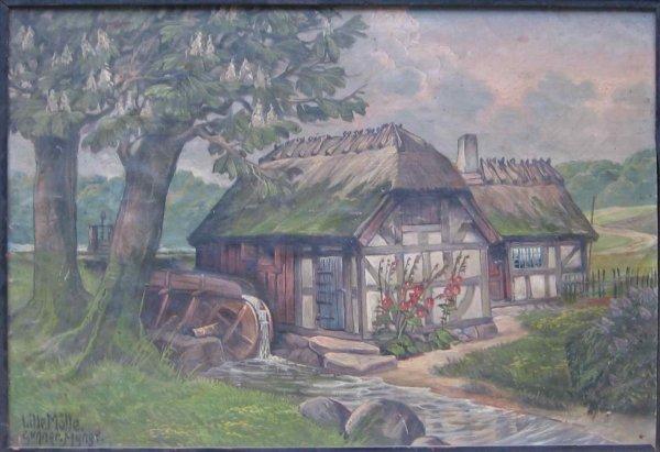 016: Gunnar Mynge Oil Painting Denmark