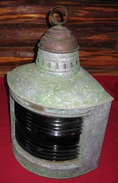 041: Vintage PERKO Marine Starboard Light