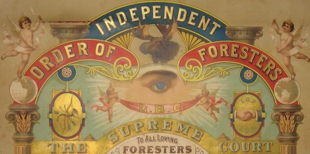 8: Independent Order of Foresters Charter - PEI, 1907