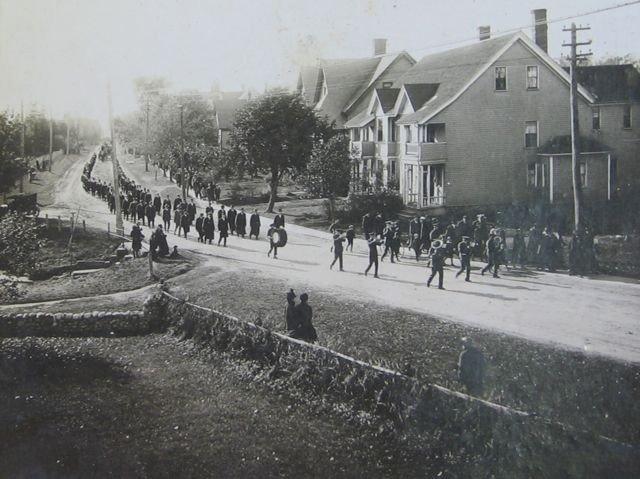 9: PEI Photograph - Brighton Road, Charlottetown, c1920