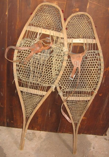 19: Antique PEI Snowshoes