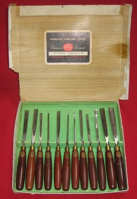 24: Marples Shamrock Carving Tools, No. 60