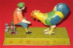 30: Toyodo Japanese Painted Tin Wind-up Toy