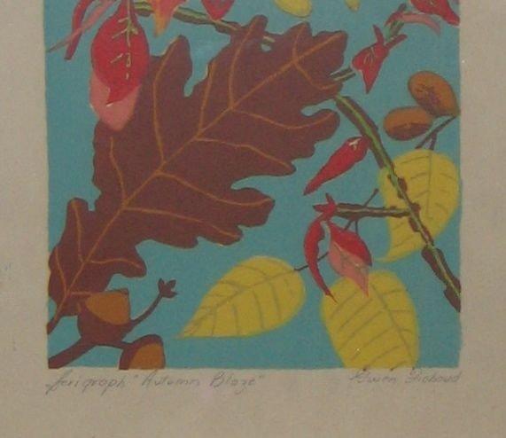 130: Gwen Fichaud (Canadian), Serigraphs, Lot of 2 - 3
