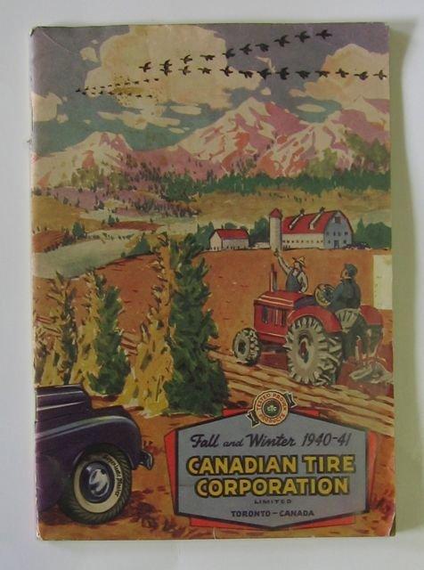 "4: ""Canadian Tire"" Fall & Winter 1940-41 Catalog"