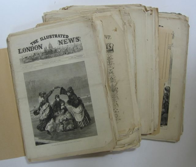 "5: ""Illustrated London News"" Lot, 1870s"