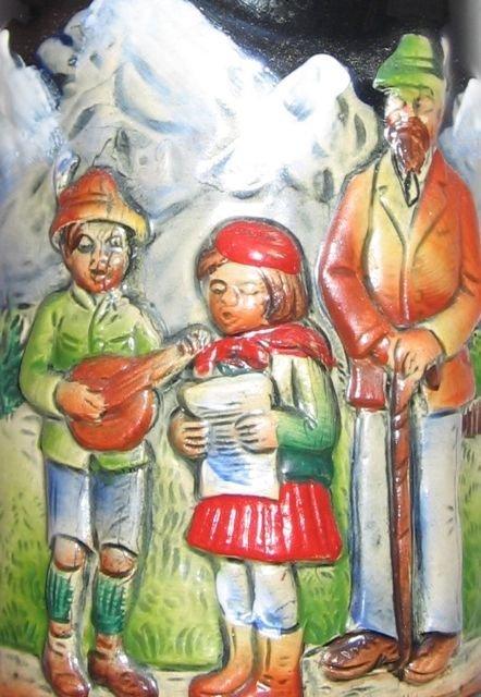 Schmid Bavarian Christmas Stein 1971