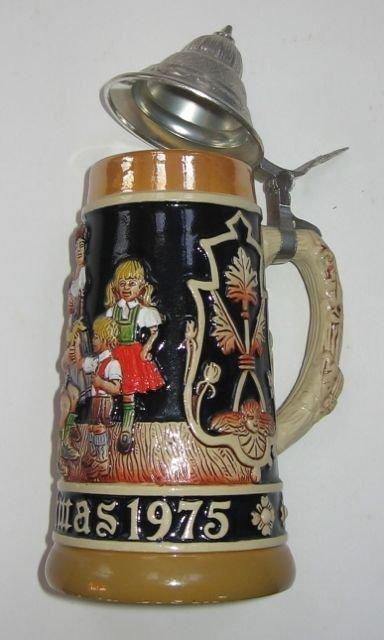 Schmid Bavarian Christmas Stein 1975