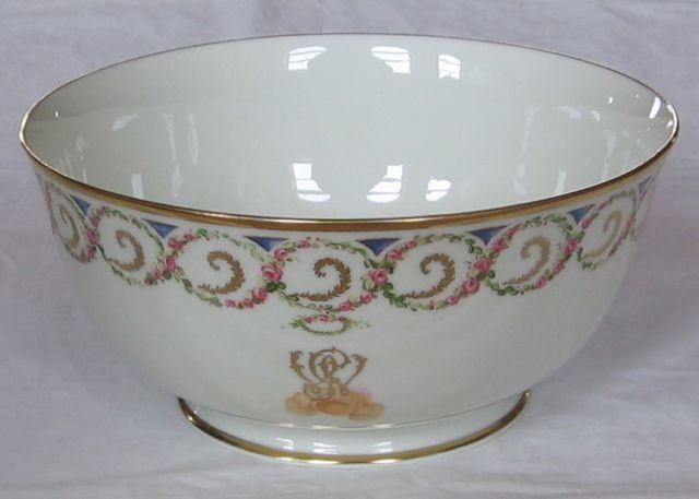 Lenox Washington Monogram Porcelain Bowl 1982