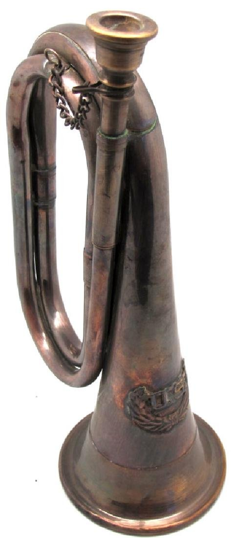 7TH CAVALRY COPPER BRASS BUGLE