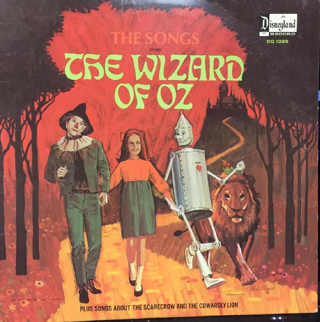 VINTAGE DISNEYLAND WIZARD OF OZ RECORD ALBUM