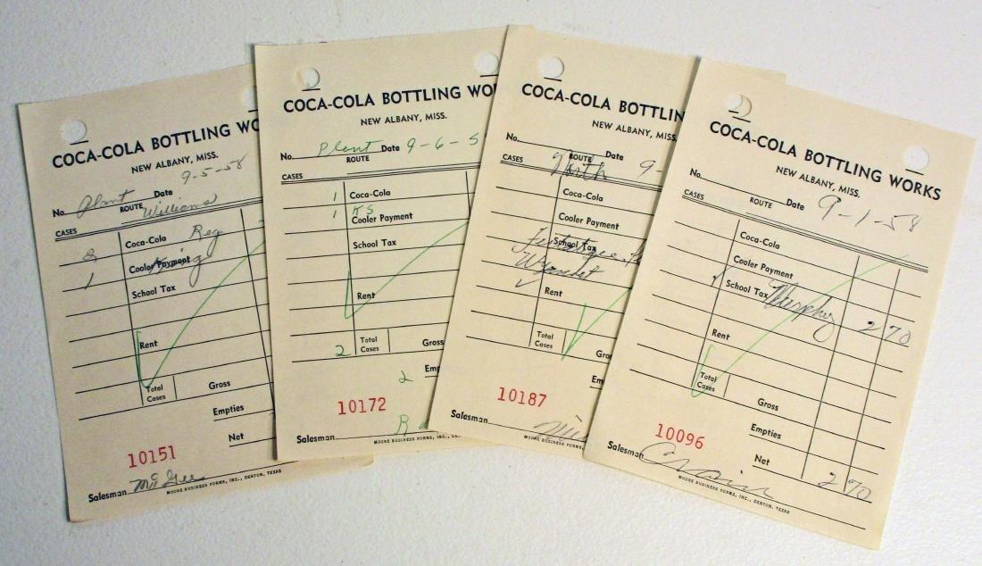 VINTAGE 1950S COCA COLA NEW ALBANY MS PLANT ROUTE