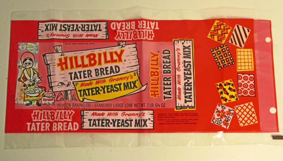 VINTAGE HILLBILLY TATER BREAD BAG