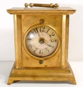 VINTAGE TIMEWORKS 1906 SERIES BRASS BATTERY OPERATED