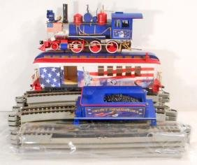VINTAGE SPIRIT OF AMERICA TRAIN SET W/ COA FROM