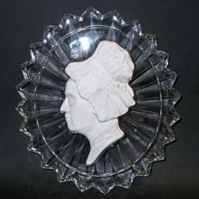 VINTAGE FOSTORIA MARTHA WASHINGTON TABLE DECORATION