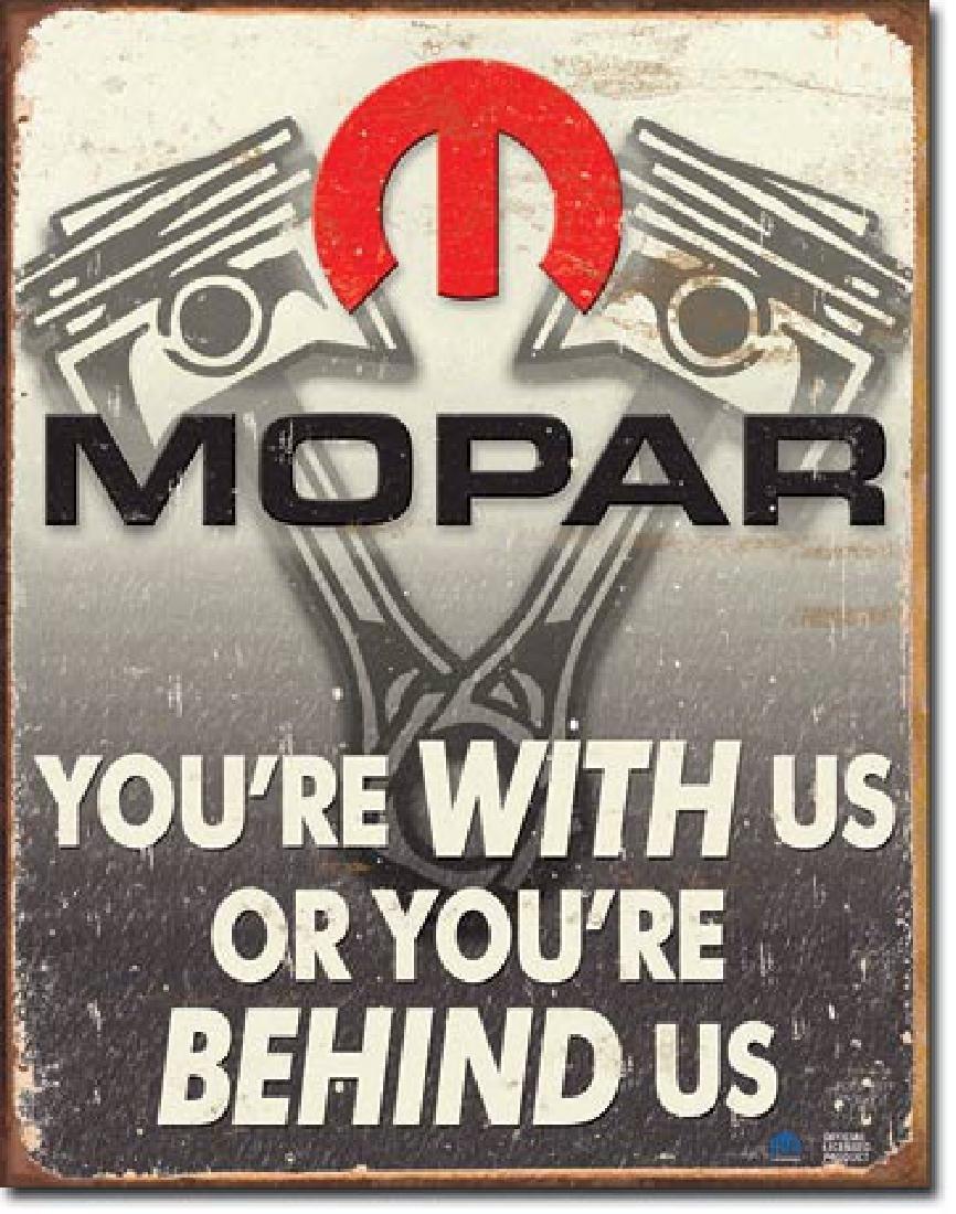 "MOPAR METAL SIGN 12.5"" X 16"""