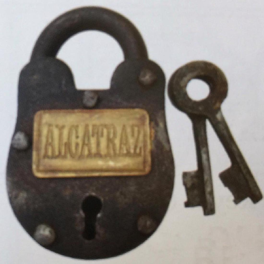 "ALCATRAZ CAST IRON GATE PADLOCK - 2.5"" X 1.5"""