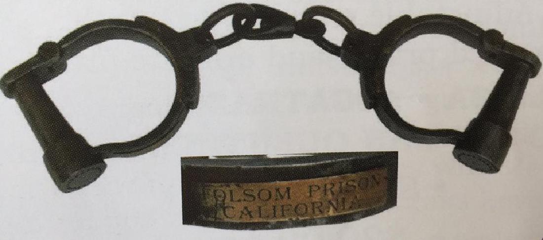FOLSOM PRISON FIXED HANDCUFFS