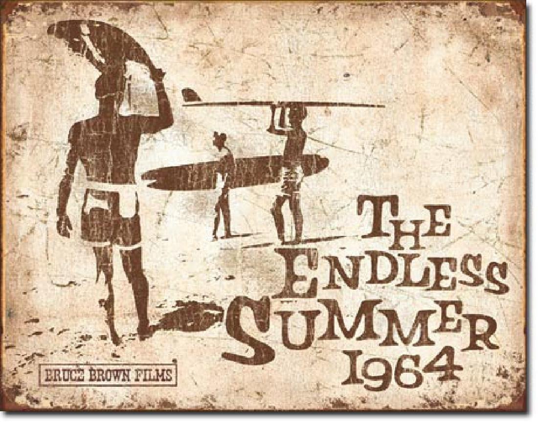 "ENDLESS SUMMER METAL SIGN 12.5"" X 16"""