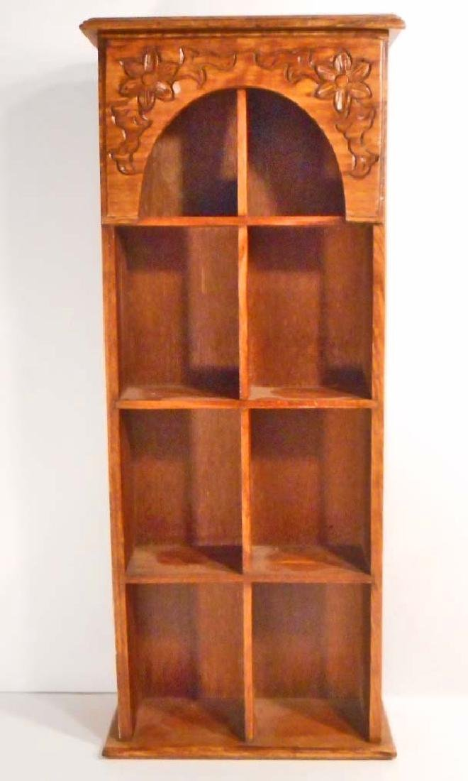 VINTAGE WOODEN KNICK KNACK WHAT KNOT SHELF