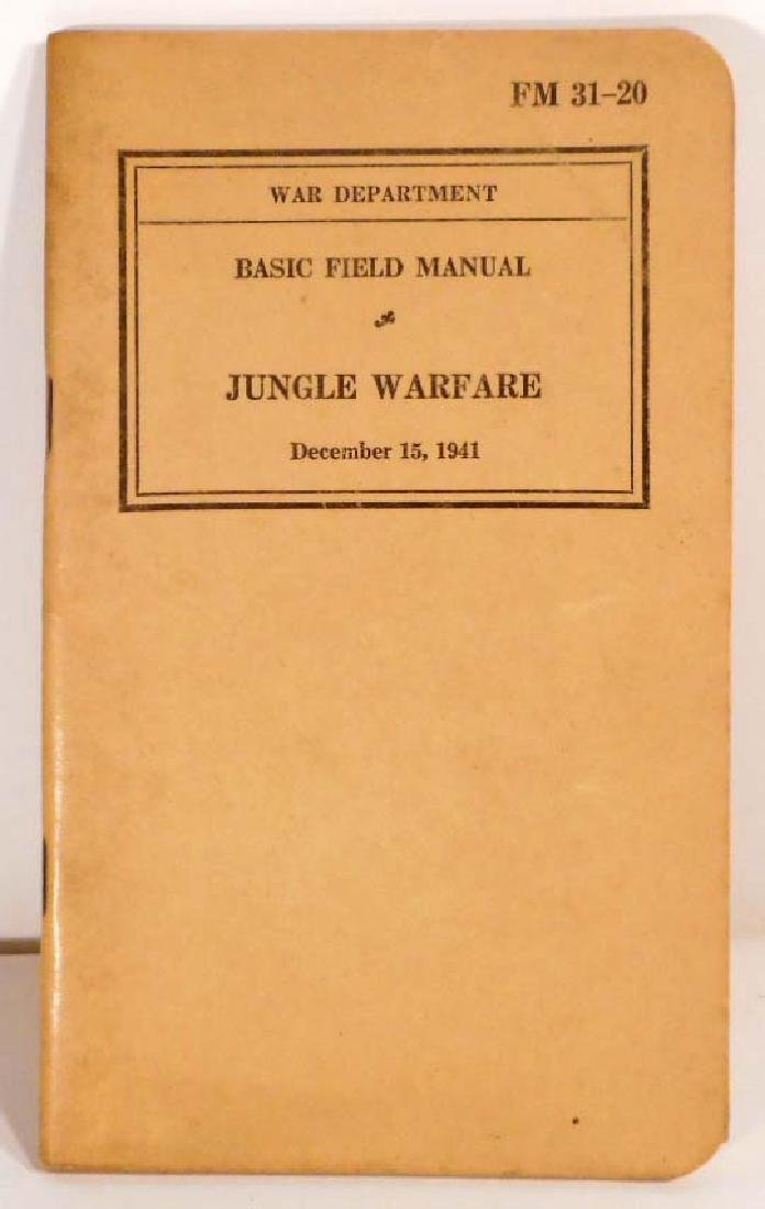 VINTAGE 1941 WW2 WAR DEPARTMENT BASIC FIELD MANUAL