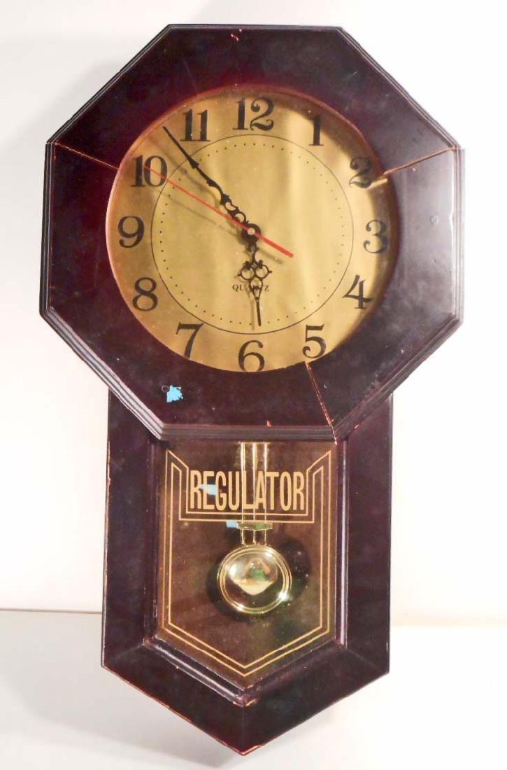 QUARTZ REGULATOR WALL CLOCK