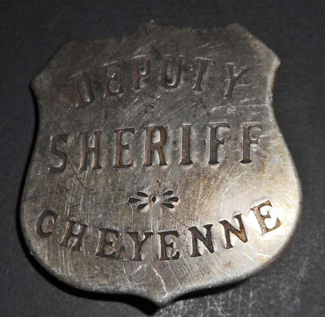 CHEYENNE DEPUTY SHERIFF BADGE
