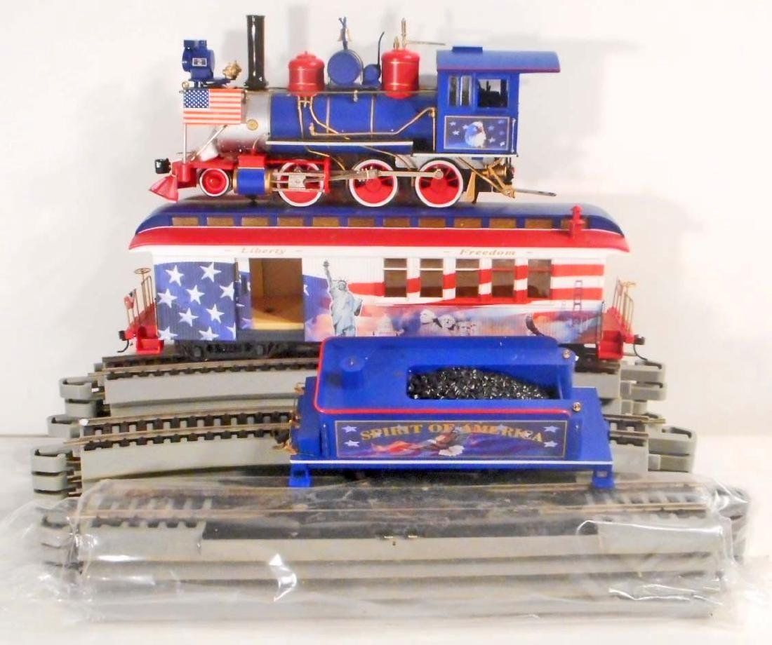 VINTAGE SPIRIT OF AMERICA TRAIN SET W/ COA FROM