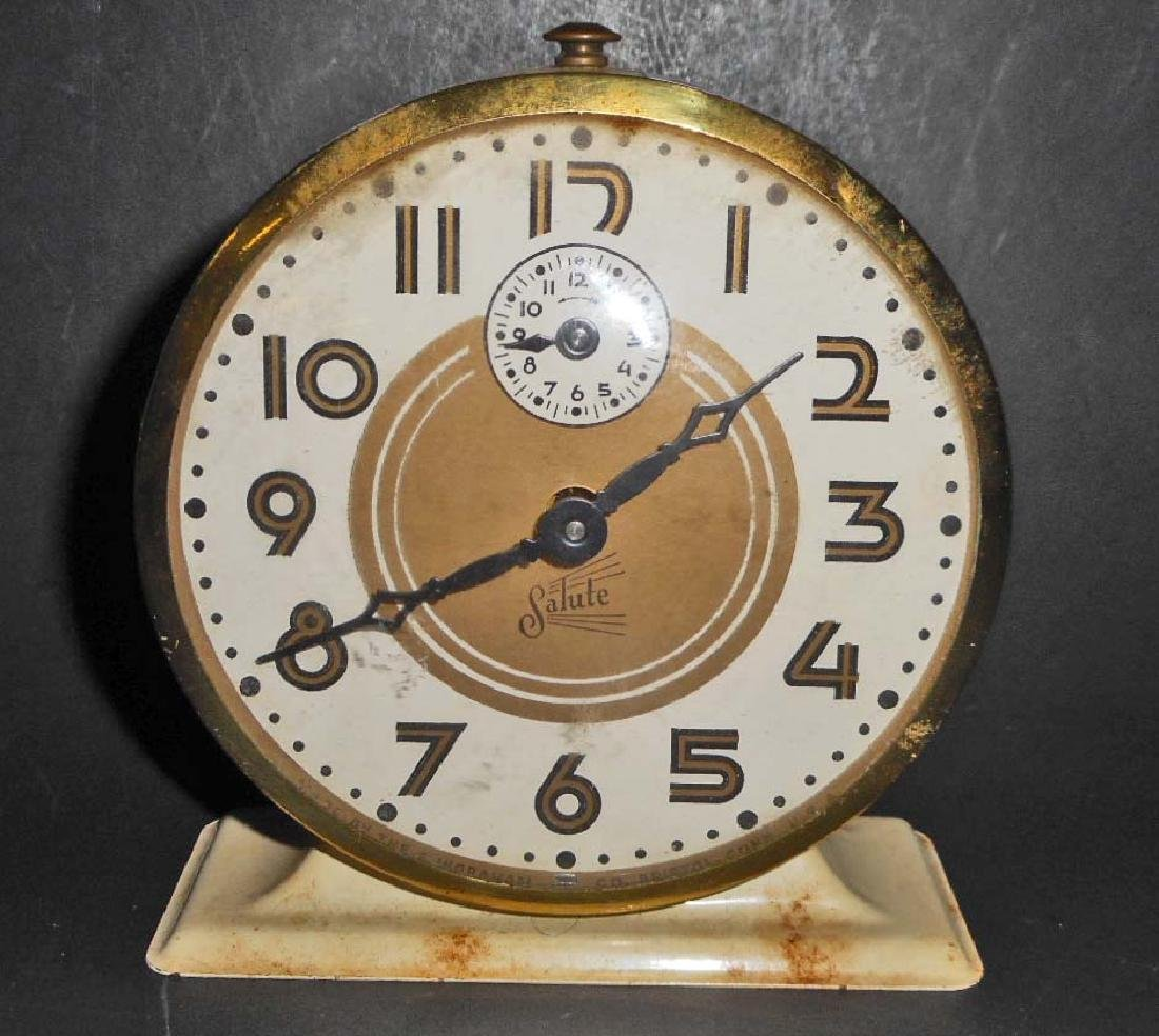 VINTAGE1950'S ARISTOCRAT SALUTE ALARM CLOCK