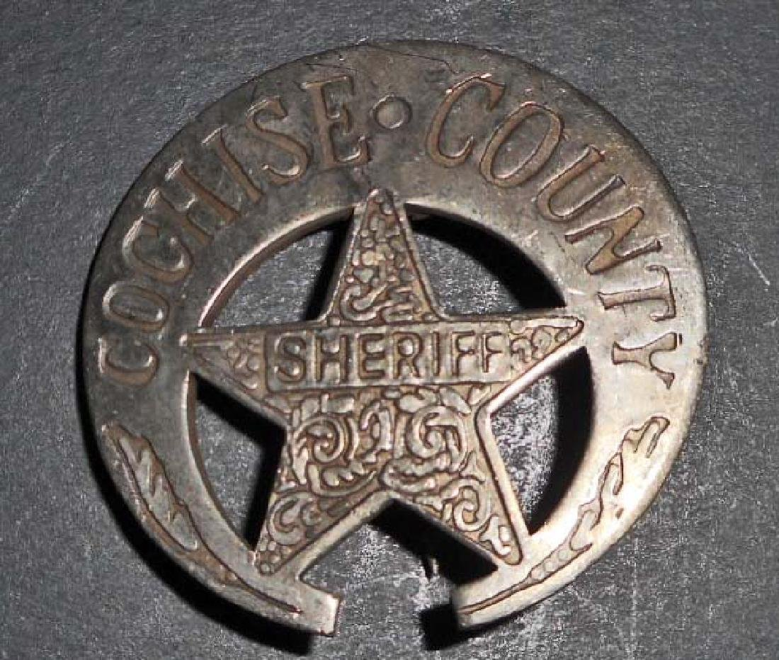 COCHISE COUNTY SHERIFF BADGE