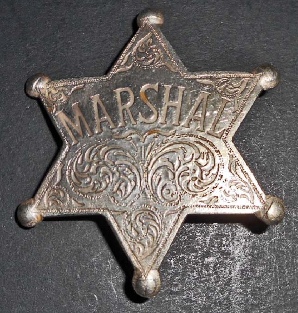 MARSHAL 6 POINT STAR BADGE