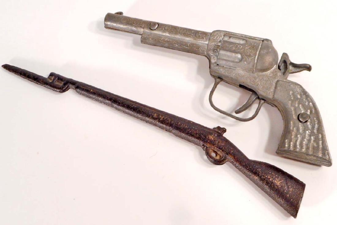 LOT OF 2 VINTAGE TOY GUNS