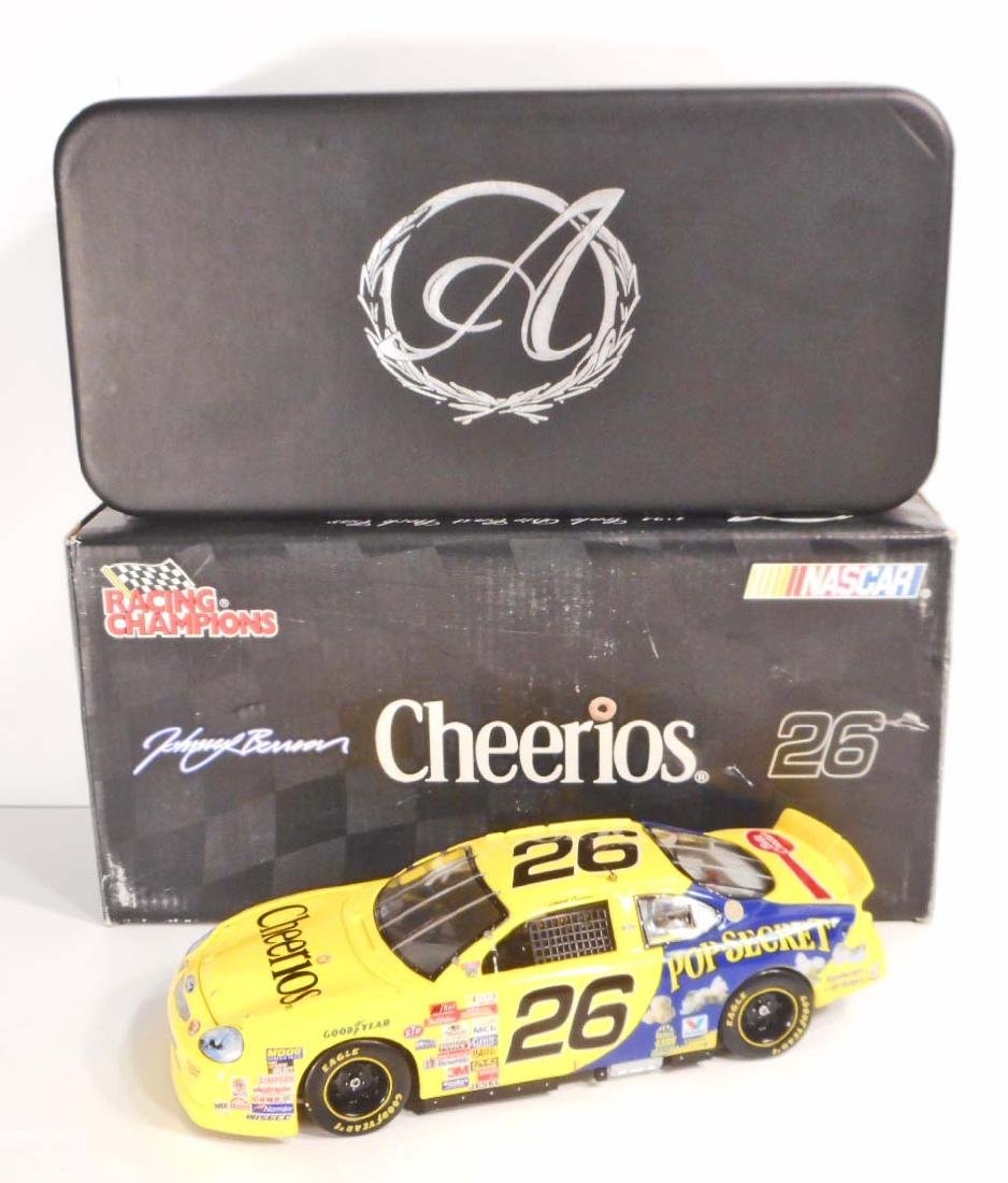 VINTAGE NASCAR JOHNNY BENSON RACING CHAMPIONS DIE CAST
