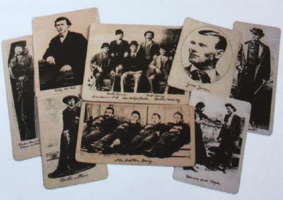 LOT OF 13 OLD WEST OUTLAWS PHOTOS