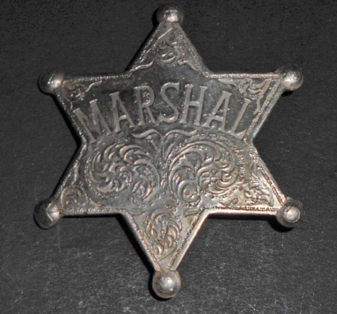 MARSHALL 6 POINT STAR BADGE