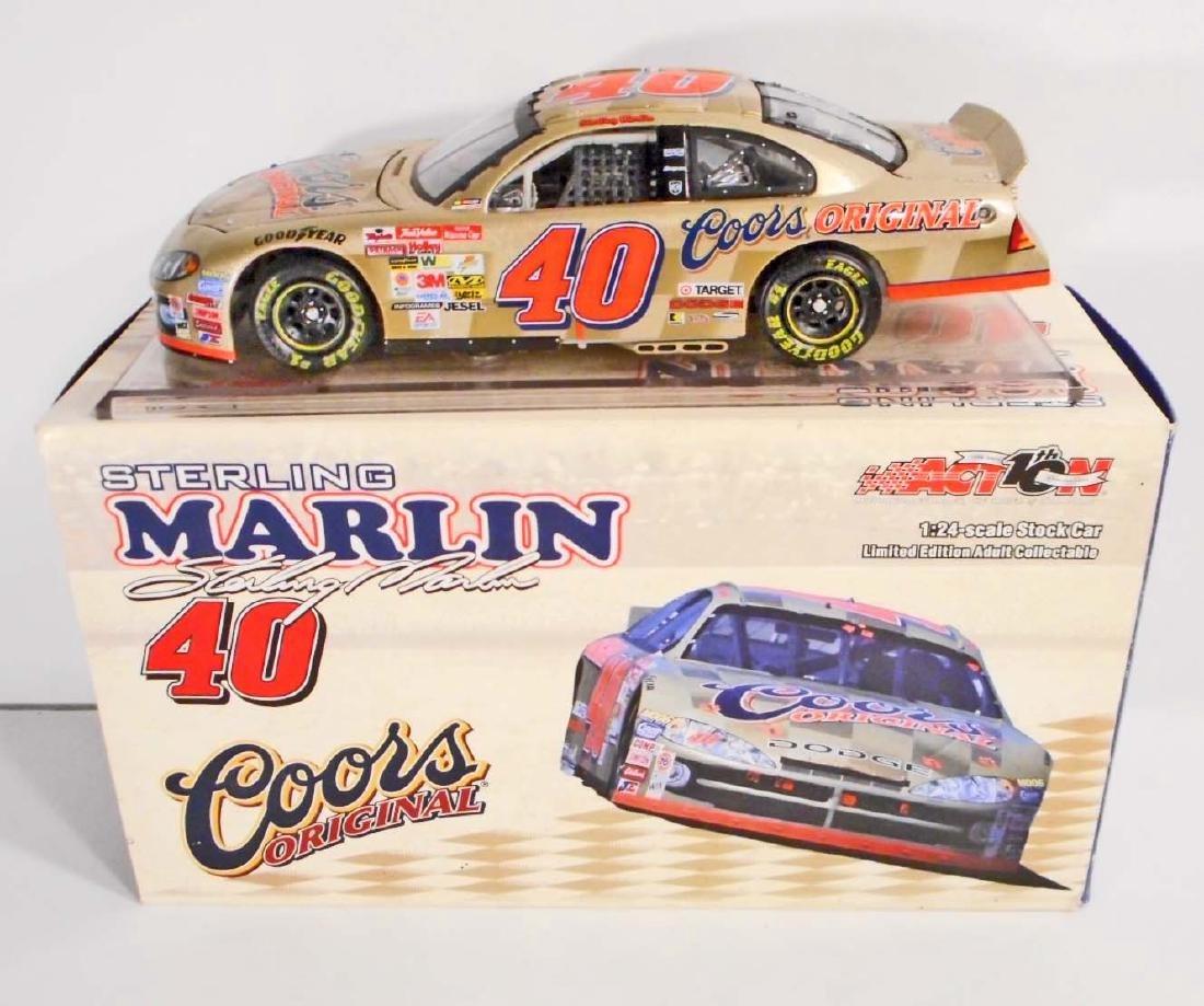 VINTAGE NASCAR STERLING MARLIN ACTION RACING DIE CAST