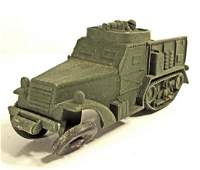 VINTAGE AUBURN MILITARY TOY VEHICLE