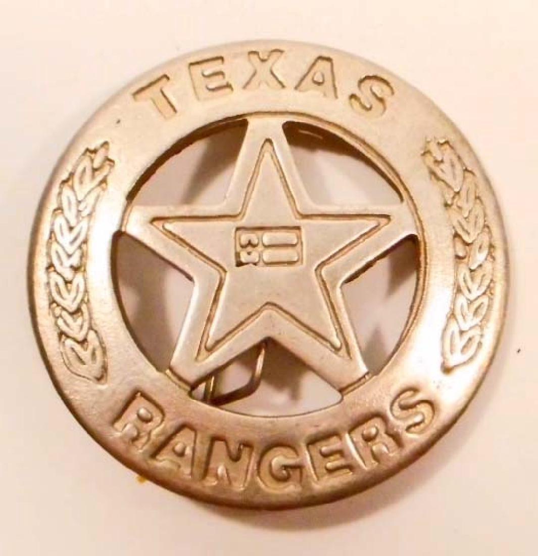 TEXAS RANGERS LAW BADGE