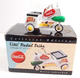 COCA COLA PEDAL TRIKE IN ORIGINAL BOX