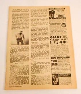 VINTAGE 1959 OLD WEST MAGAZINE W/ GREAT CONTENT