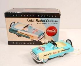 COCA COLA PEDAL CRUISER IN ORIGINAL BOX