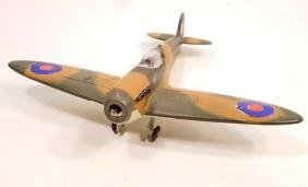 VINTAGE DINKY TOYS SPITFIRE MKII AIRPLANE TOY