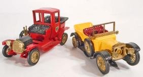 LOT OF 2 VINTAGE MATCHBOX LESNEY CARS OF YESTER YEAR